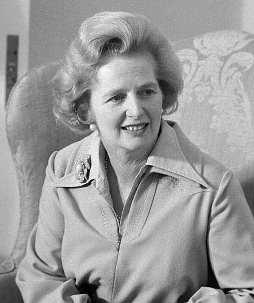 Baroness Margaret Hilda Thatcher